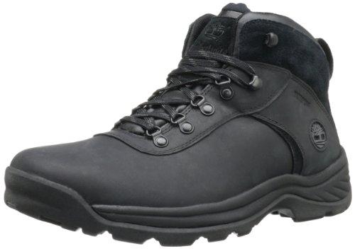 Timberland Men's Flume Waterproof Boot,Black