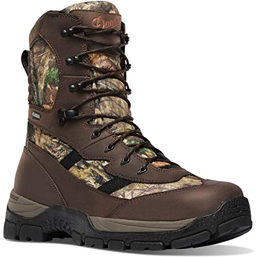 "Danner Men's Alsea 8"" Gore-Tex 1000G Hunting Boot, Mossy Oak Break-Up Country"