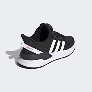 adidas Originals Kids Unisex's U_Path Run Sneaker, Black/White/Shock red