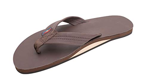 Rainbow Sandals Men's Premier Leather Single Layer Wide Strap