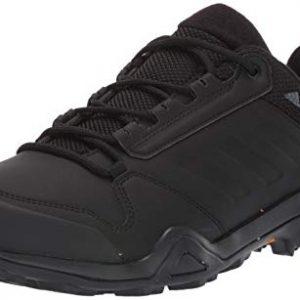 adidas outdoor Men's Terrex AX3 BETA CW Boot, Black/Black/Grey Five