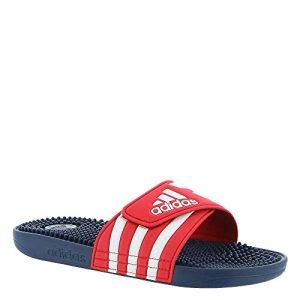 adidas Adissage Slide Sandal, Red