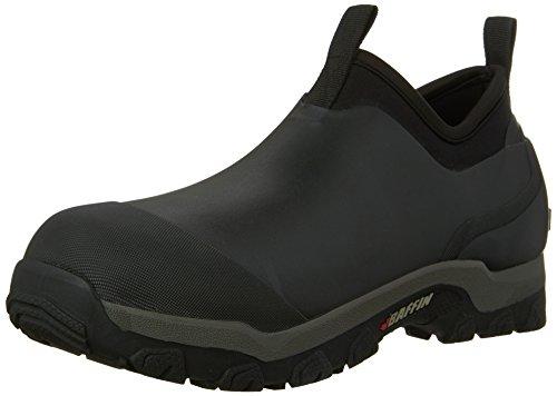 Baffin Men's Marsh Mid Rain Boot,Black