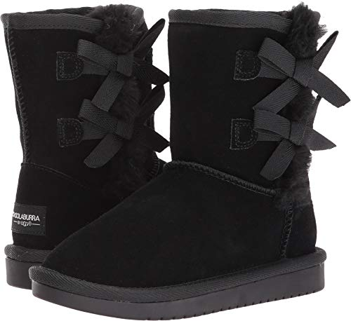 Koolaburra by UGG Girls' Victoria Short Fashion Boot, Black