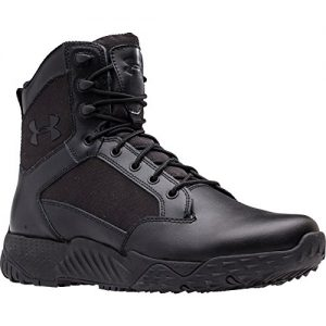 Under Armour Men's Stellar Military and Tactical Boot, Black