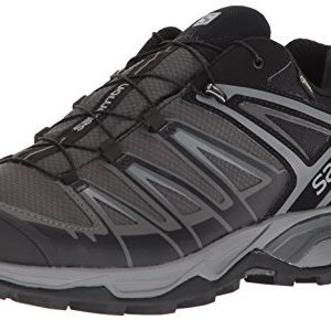 Salomon Men's X Ultra 3 GTX Hiking Shoes, Black/Magnet/Quiet Shade