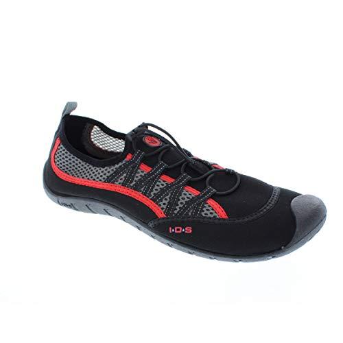 Body Glove Men's Sidewinder Water Shoe, Black/Infrared