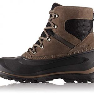 SOREL - Men's Buxton Lace Waterproof Winter Boot, Major, Black