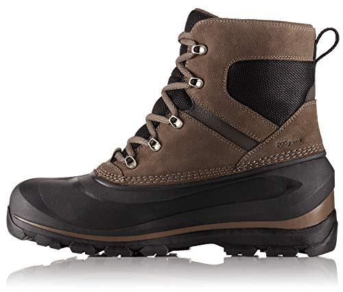 SOREL - Men's Buxton Lace Waterproof Winter Boot, Major, Black