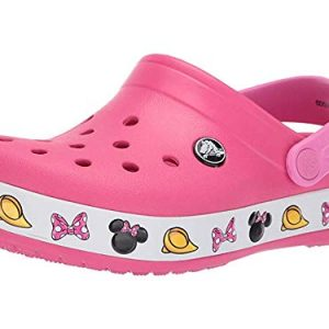 Crocs Girls' Disney Mickey Mouse Clog, Paradise Pink
