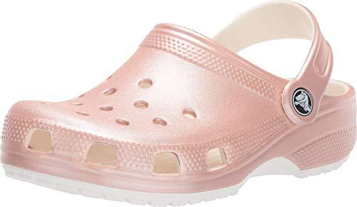 Crocs Classic Metallic Clog, Rose Gold