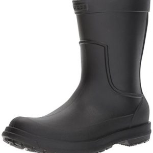Crocs Men's AllCast M Rain Boot Black/Black, 9 M US