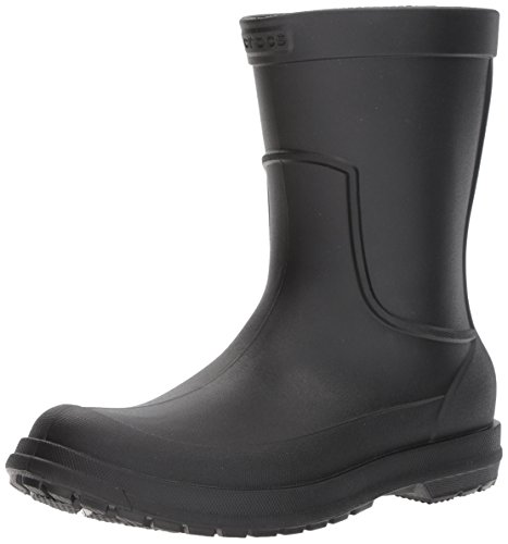 Crocs Men's AllCast M Rain Boot Black/Black, 9 M US