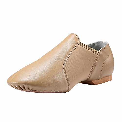 Dynadans Leather Upper Slip-on Jazz Shoe (Big Kid/Little Kid/Toddler)