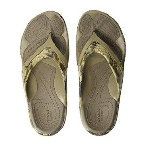 Crocs MODI Sport Kryptek Highlander Flip-Flop khaki 9 US Men/ 11 US Women