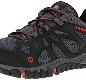 Merrell Men's All Out Blaze Aero Sport Hiking Water Shoe, Black/Red, 9 M US
