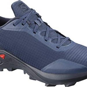 Salomon Men's ALPHACROSS Trail Running Shoe, Sargasso Sea/Navy Blazer/India