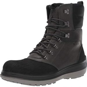 ECCO Men's Roxton Winter Gore-Tex Snow Boot, Black/Dark Shadow/Primal G