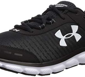 Under Armour Men's Charged Assert 8 Running Shoe, Black