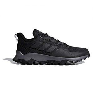 adidas Men's Kanadia Trail, Black/Grey/Grey