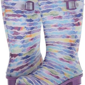 Kamik Girls' RAINPAINT Rain Boot, Purple