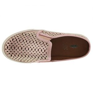 VOLATILE Beaubear Girls' Toddler-Youth Slip On 2 M US Little Kid Rose Gold