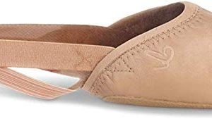 Capezio Girls' Turning Pointe 55 Ballet Shoe, Nude, Medium