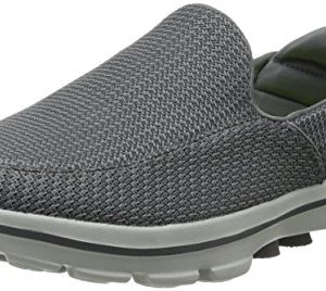 Skechers Performance Men's Go Walk 3 Slip-On Walking Shoe, Charcoal, 9.5 M US