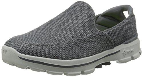Skechers Performance Men's Go Walk 3 Slip-On Walking Shoe, Charcoal, 9.5 M US