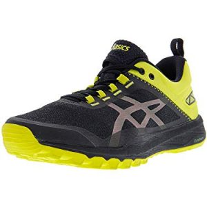 ASICS Men's Gecko XT Trail Running Shoe - Black/Carbon/Sulphur Spring