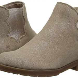 Stride Rite Girls' SR Isabella Boot Fashion, Light Gold