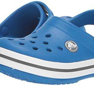 Crocs Kids' Crocband Clog, Bright Cobalt/Charcoal