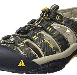 KEEN Men's Newport H2 Sandal, Raven/Aluminum
