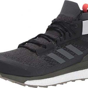 adidas outdoor Terrex Free Hiker Boot - Men's Black/Grey Six/Night Cargo, 11.5