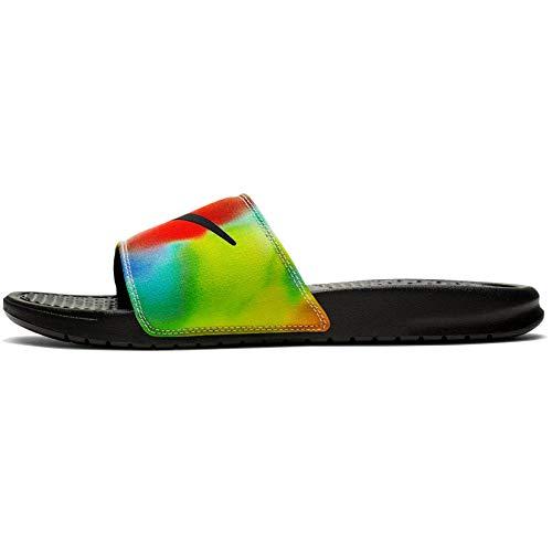 Nike Men's Benassi JDI Print Tie Dye Slide Sandals