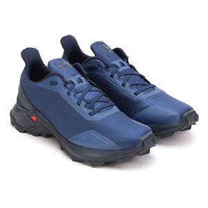 Salomon Men's ALPHACROSS Trail Running Shoe, Sargasso Sea/Navy
