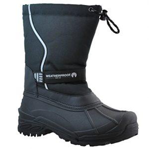 Weatherproof Men's Oscar Snow Boot,Black,10