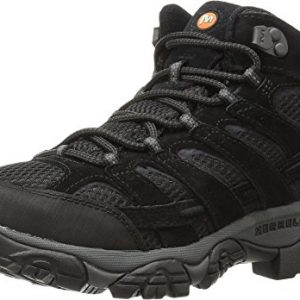 Merrell Men's Moab 2 Vent Mid Hiking Boot, Black Night