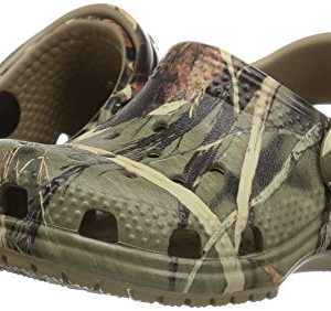 Crocs Kids' Classic Realtree Clog | Slip On Water Shoe for Toddlers, Boys