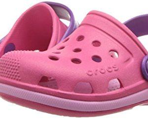 Crocs Kids' Electro Clog, Paradise Pink/Carnation