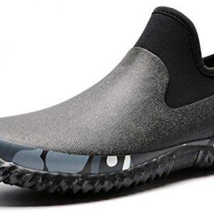 TENGTA Unisex Waterproof Garden Shoes Womens Rain Boots Mens Car Wash