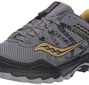 Saucony Men's Grid Excursion TR12 Trail Running Shoe, Silver