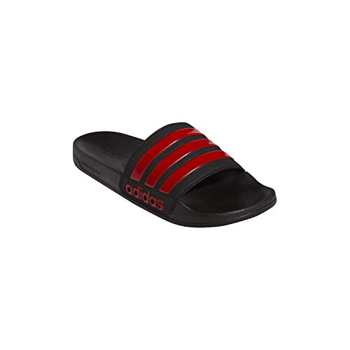 adidas Men's Adilette Shower Slide Sandal, Black