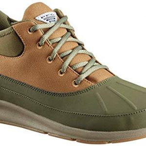 Columbia PFG Men's Delray Duck PFG Rain Shoe, nori, Pebble