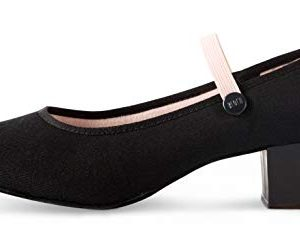 Bloch Girls' Tempo Accent Dance Shoe, Black