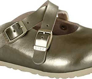Birkenstock Dorian Kids Clogs, Soft Metallic Gold