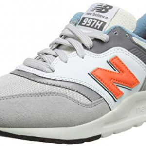 New Balance Men's 997H V1 Sneaker, RAIN Cloud/Dark Mango