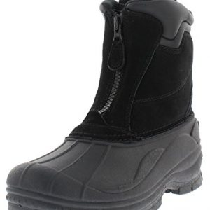 Weatherproof Trek Zip Up Waterproof Snow Boots for Men | Thermolite