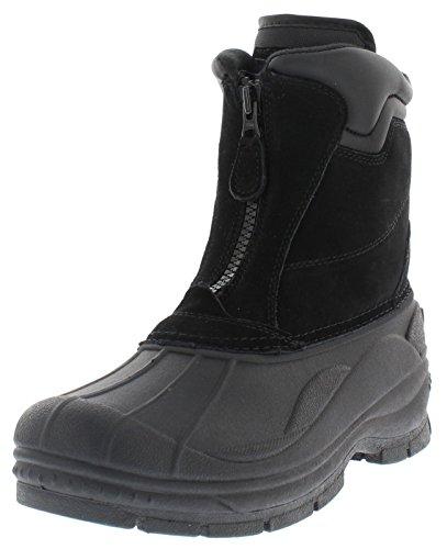Weatherproof Trek Zip Up Waterproof Snow Boots for Men | Thermolite