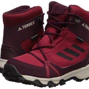 adidas outdoor Kids' Terrex Snow CP CW Boot, Active Maroon/Black/Maroon